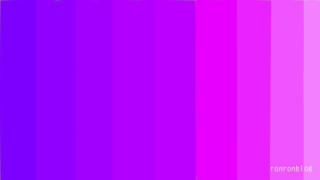紫色による心理効果