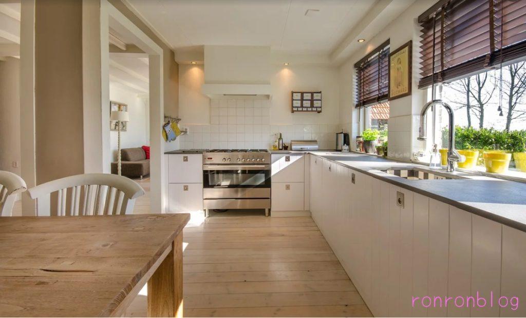 風水でみる家庭の運:キッチン