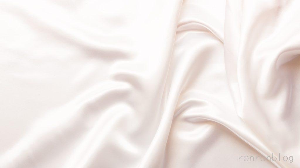 シルクは保湿性と美肌効果に優れている